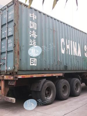 缅甸设备发货.