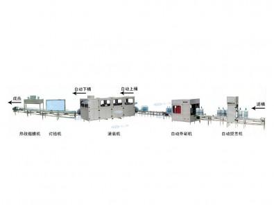 大桶水灌装流程